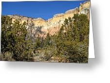 New Mexico Series - Bandelier I Greeting Card