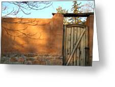 New Mexico Series - Doorway II Greeting Card