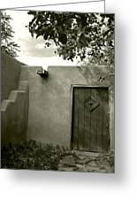 New Mexico Series - Doorway Iv Greeting Card