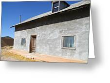 New Mexico Series - House In Truchas Greeting Card