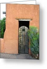 New Mexico Series - Santa Fe Doorway Greeting Card