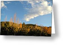 New Mexico Series - Santa Fe Landscape Autumn Greeting Card