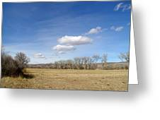 New Mexico Series - The Long View Greeting Card