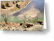 New Mexico Series A River View Greeting Card