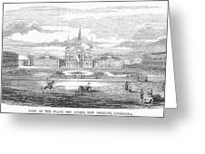 New Orleans, 1853 Greeting Card