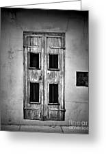New Orleans Classic Doors Greeting Card