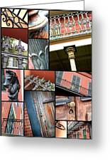 New Orleans Collage 1 Greeting Card