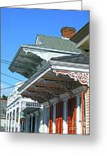 New Orleans Home Uptown Greeting Card