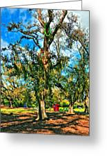 New Orleans Sculpture Park Greeting Card