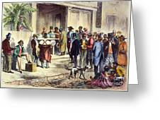 New Orleans: Voting, 1867 Greeting Card