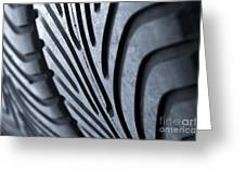 New Racing Tires Greeting Card