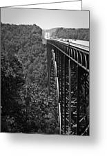 New River Gorge Bridge Fayetteville West Virginia Greeting Card