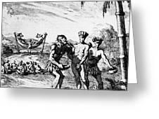 New World: El Dorado, 1727 Greeting Card