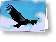 New World Vulture Greeting Card