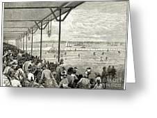 New York: Baseball, 1886 Greeting Card