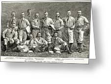 New York Baseball Team Greeting Card