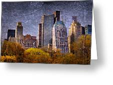 New York Buildings Greeting Card