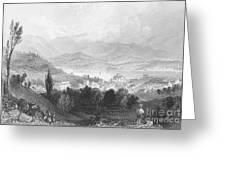 New York: Catskills, 1839 Greeting Card
