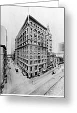 New York City - Western Union Telegraph Building Greeting Card