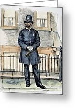New York City Policeman Greeting Card