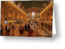 New York Grand Central Greeting Card
