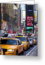 New York Gridlock Greeting Card