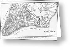 New York: Maps Greeting Card