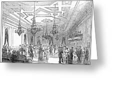 New York: Opera House Greeting Card