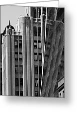 New York Reflections 1 Greeting Card