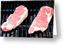 New York Steak Greeting Card