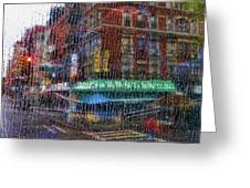 New York Street Greeting Card
