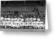 New York Yankees, C1921 Greeting Card