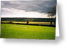 Newgrange Gounds Looking Se Greeting Card