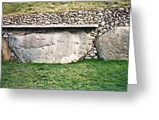 Newgrange Runes Greeting Card