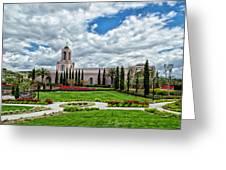 Newport Beach Temple  Greeting Card