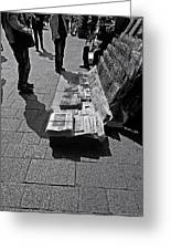 Newspaper Stand 2 - Vienna Greeting Card