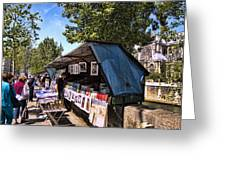 Newstand Along The Seine Greeting Card
