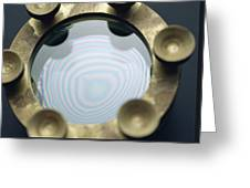 Newton's Rings Greeting Card by Andrew Lambert Photography