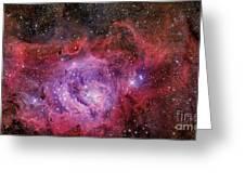 Ngc 6523, The Lagoon Nebula Greeting Card