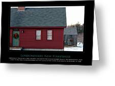 Nh Old Homes Greeting Card by Jim McDonald Photography