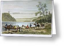 Niagara Falls Bridge Greeting Card