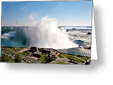 Niagara Falls From Above Greeting Card