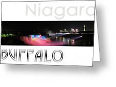 Niagara Falls Postcard Greeting Card