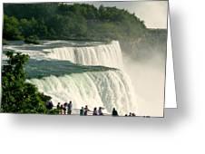 Niagara Falls State Park Greeting Card by Mark J Seefeldt