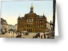 Nicolaus Copernicus Monument In Warsaw Poland Greeting Card by International  Images