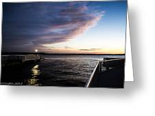 Night And Day 2 Greeting Card