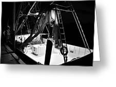 Night Boat Greeting Card