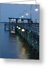 Night Fishing Greeting Card