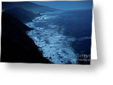 Night Magic In Big Sur Greeting Card by Rossi Love
