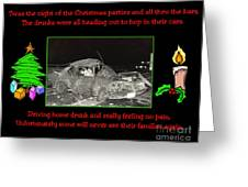 Night Of Christmas Greeting Card